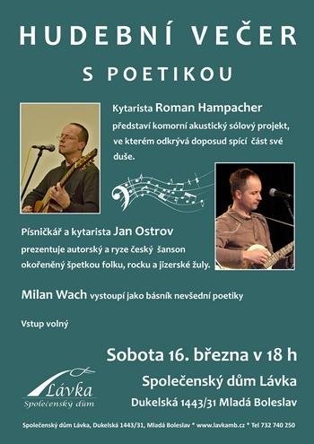 Plakát | Koncert jedna báseň